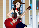 Country Guitar Girl Dress Up