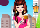 Coffe Girl Dress Up