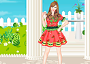 Watermelon Princess Dress Up Game