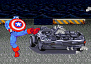 Captain America Car Rampage