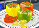 Sara's Cooking Class - Stuffed Peppers