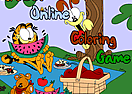 Garfield - Online Coloring Game