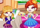 Colorful Girls Dinner Party