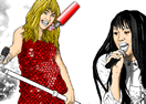 Hannah Montana Online Coloring