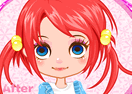 Bright Doll Face Makeover