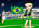 Brazil Fan Dress Up