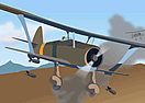 Biplane Bomber II - Dogfight Involved