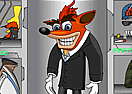 Crash Bandicoot Dress Up