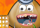 Pou at the Dentist