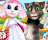 White Kittens Bride Contest