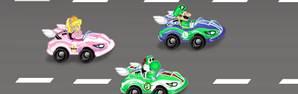 Super Mario Rush Car
