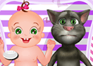 Baby Rosy and Tom Day Care