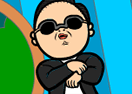Animated Coloring Oppa Gangnam Style