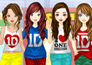 One Direction Concert Frenzy