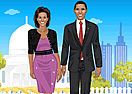 Obama Couple Dress Up