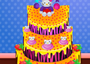 Hello Kitty Inspired Cake