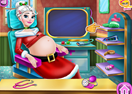 Mrs. Claus Pregnant Check-Up