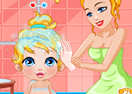 Baby Beauty Pageant Makeover