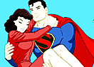 Superman Love Coloring