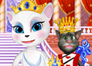 Talking Angela Becomes Queen!