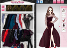Winter Evening Dresses Anime