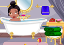 Baby Princess Tiana Shower Bath