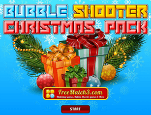 Bubble Shooter Christmas Pack - Jogos Online