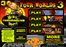 Monkey Go Happy - Four Worlds 3