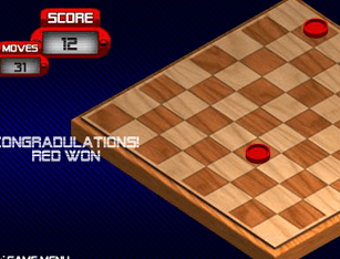 Checkers Fun no Click Jogos