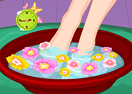 Flower Pedicure Designs