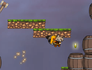 Jogo  Flying Raccoon